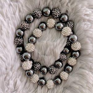 Vera Wang Simply Pearl Beads 2 sets bracelets